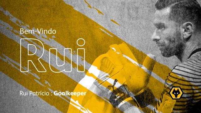 OFICIAL: Rui Patrício reforça Wolverhampton