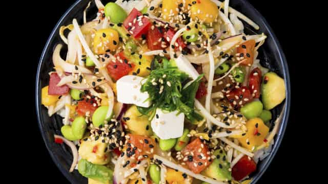 Aruki Sushi lança Poké vegetariano