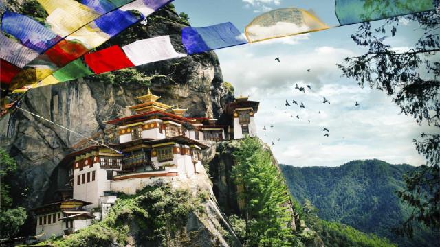O destino encantado do Reino do Butão
