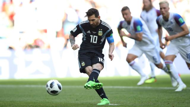 """Messi falhou o pénalti e o relator desabafou: """"Quero matar-me"""""""