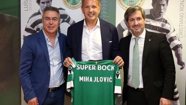 """Mihajlovic coloca Sporting em tribunal: """"Farei valer os meus direitos"""""""