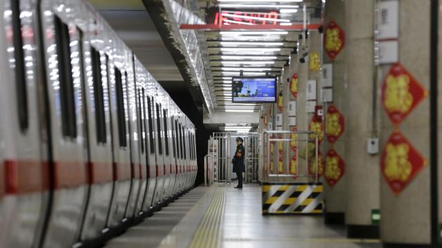 Metro de Pequim estará recheado de segurança e vigilância biométrica