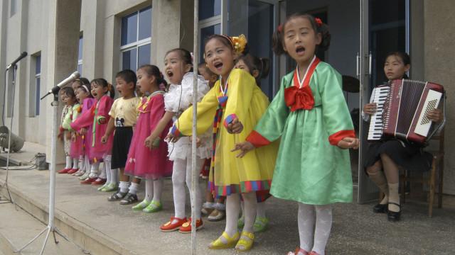 Crianças norte-coreanas estão em melhor estado de saúde