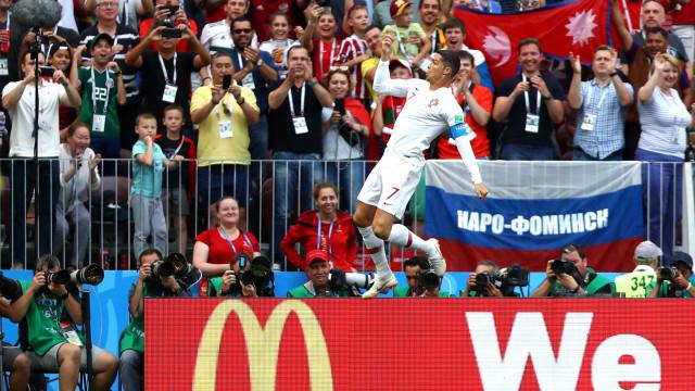 Golo de CR7 a Marrocos já lhe valeu mais um lugar na história do futebol