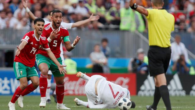 [1-0] Portugal-Marrocos: Tomem cuidado! Magrebinos apertam o cerco