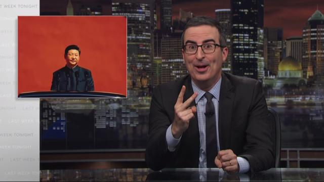 Críticas ao Presidente da China valem bloqueio a John Oliver