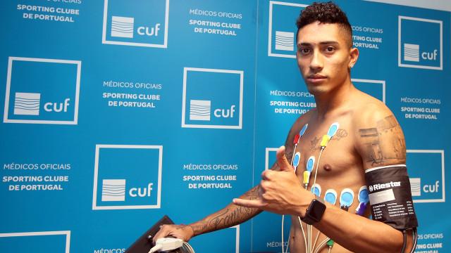 Jogadores do Sporting em exames médicos no regresso a meio da crise