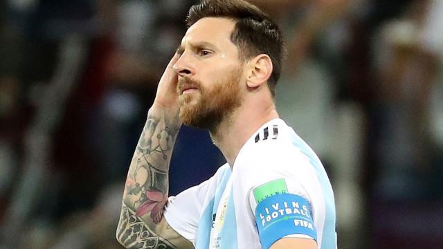 """""""Não me quero retirar sem ser campeão do mundo pela Argentina"""""""