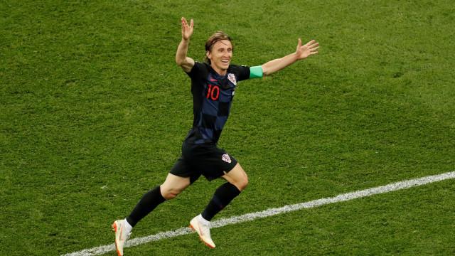 Modric surpreende e vence prémio para melhor jogador do ano da UEFA