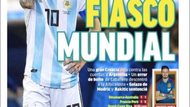 """""""Tu choras, pulga"""". Imprensa internacional espantada com a Argentina"""