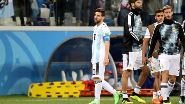 Messi, Aguero e mais cinco ponderam a abandonar seleção argentina