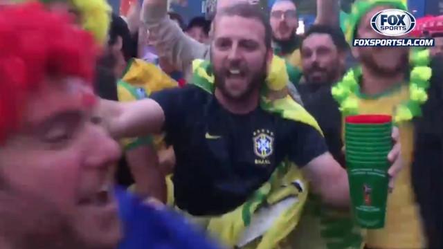 """""""Messi ciao"""": Brasileiros eufóricos com derrota da Argentina"""