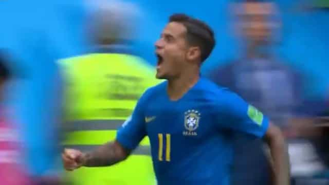 Toque subtil de Coutinho levou o Brasil à loucura