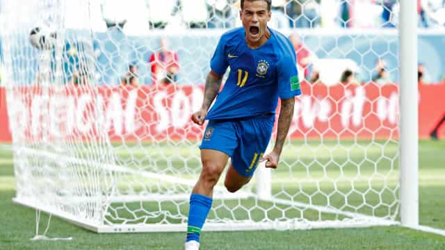 Coutinho e Neymar 'salvam' Brasil na compensação