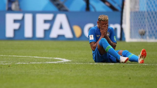 Os melhores também choram: As lágrimas de Neymar vão correr Mundo