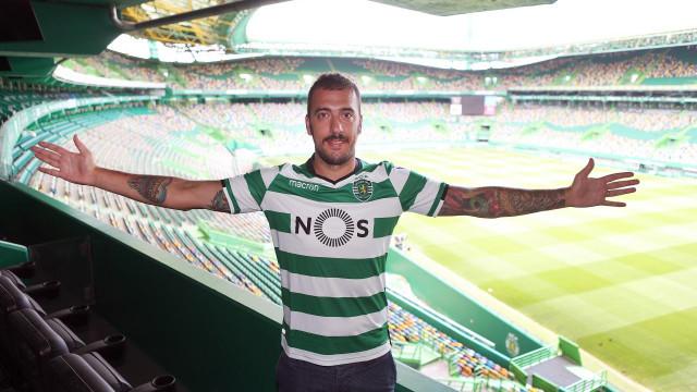 """""""A grandiosidade do Sporting é um passo importante na minha carreira"""""""