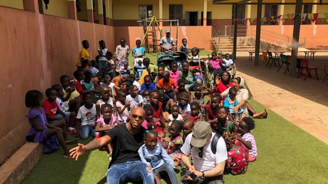 Nelson Freitas viaja até Guiné-Bissau em ação humanitária