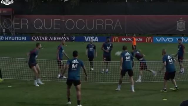 """Isco faz """"magia"""" no treino da seleção espanhola"""