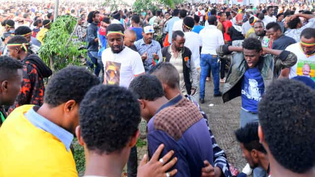 Explosão em grande comício político na Etiópia causou 83 feridos