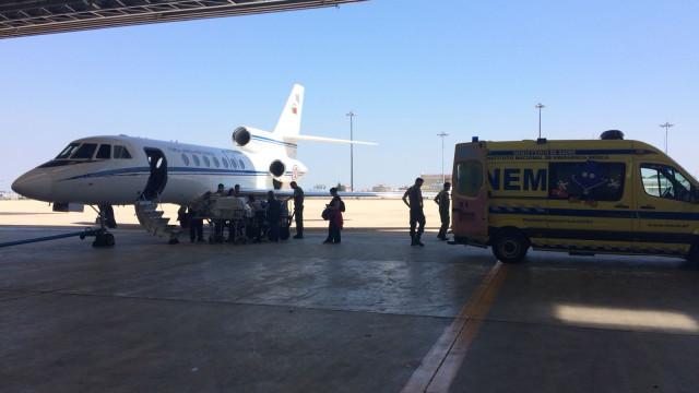 Força Aérea transporta recém-nascido do Funchal para Lisboa