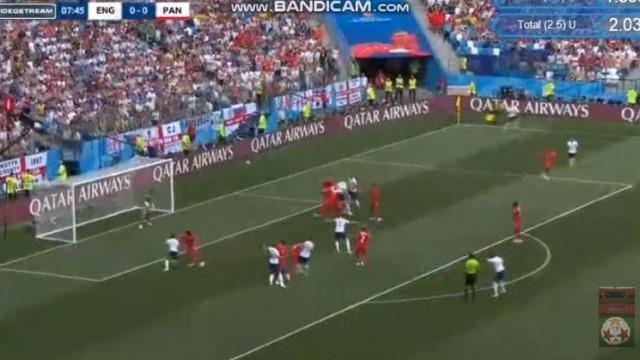 'Buraco' na defesa do Panamá e John Stones nem teve de saltar para marcar