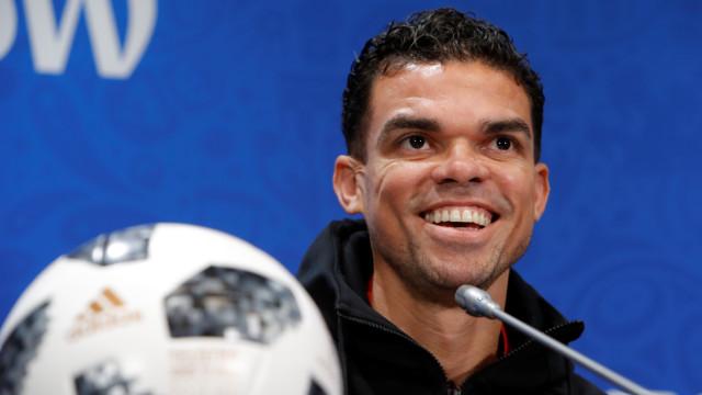Pepe rescinde contrato com o Besiktas