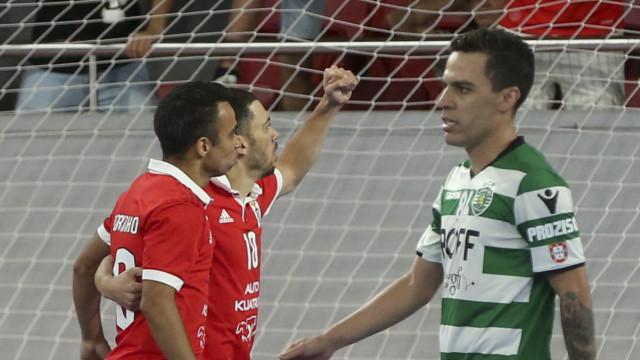 [5-6] Sporting-Benfica: Águias passam para a frente do marcador