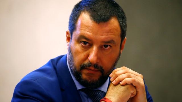 Matteo Salvini considera que pode ser candidato à Comissão Europeia