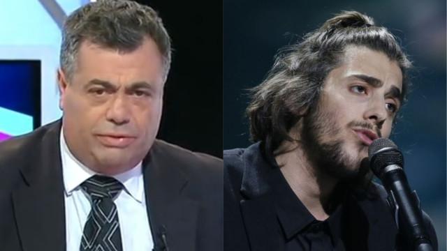 """Quintino Aires furioso com Salvador Sobral: """"Energúmeno com cara de rato"""""""