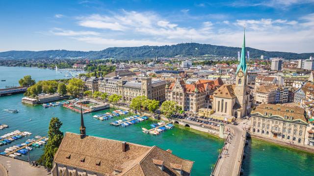 Já conhece as cores de Zurique?