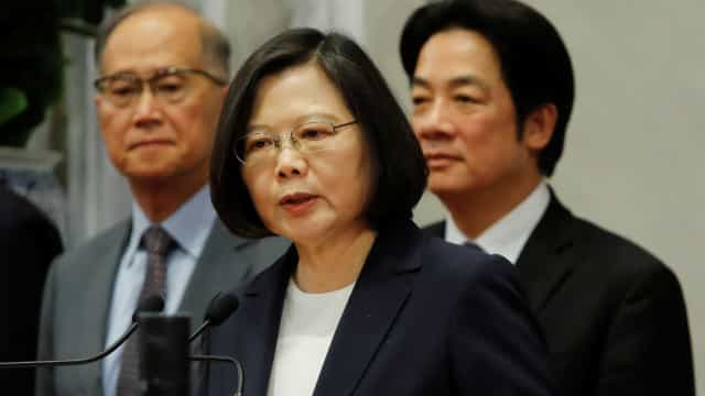 China envia protesto formal por escala de Presidente de Taiwan nos EUA