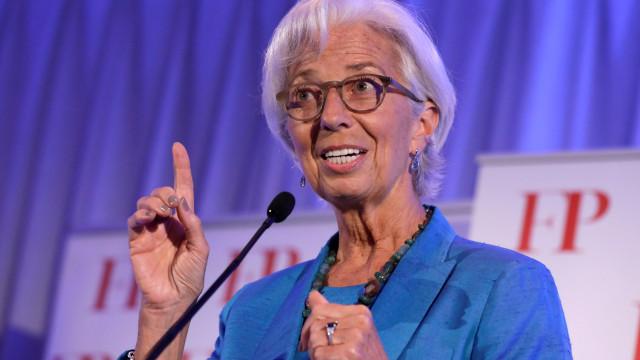 "Brexit: Lagarde alerta para ""chegada massiva"" de financeiras à zona euro"