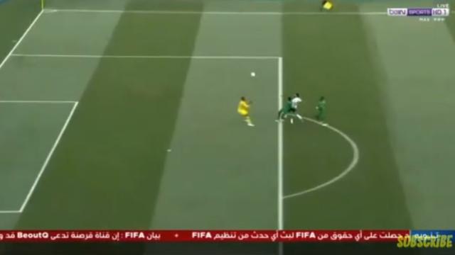 O primeiro golo de bola corrida (e que golo) de Salah no Mundial