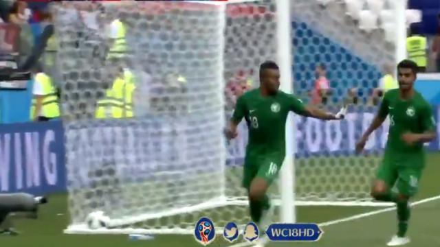 O golo que fez os sauditas voltarem a vencer num Mundial, 24 anos depois