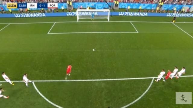 Algo que não se vê todos os dias: Cristiano Ronaldo falhou penálti