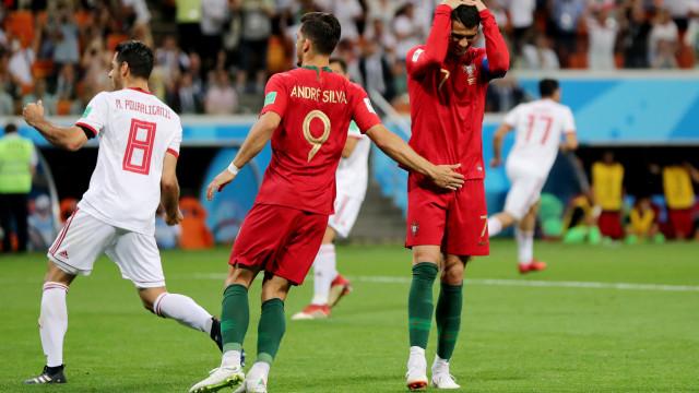 As imagens do Irão-Portugal que não viu na televisão
