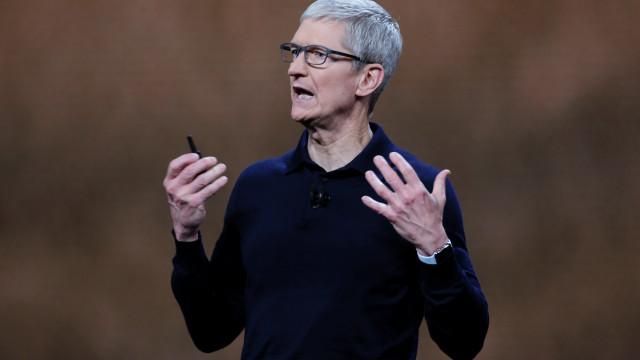 "Presidente da Apple manifesta-se ""muito otimista"" num acordo EUA e China"