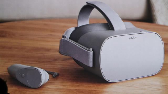 Os novos óculos de realidade virtual da Oculus estão a chegar