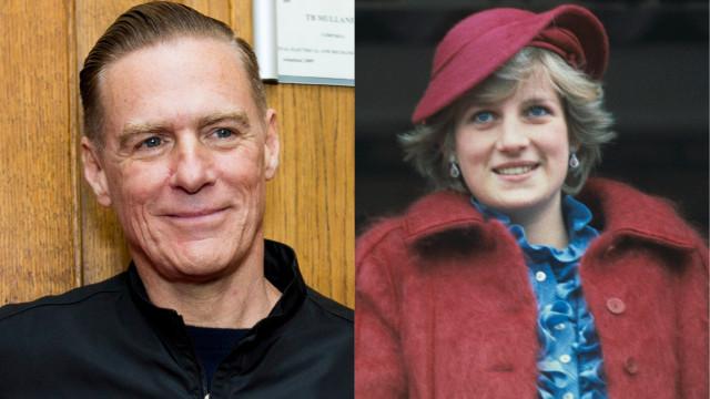 Bryan Adams comenta rumores de caso amoroso com a princesa Diana