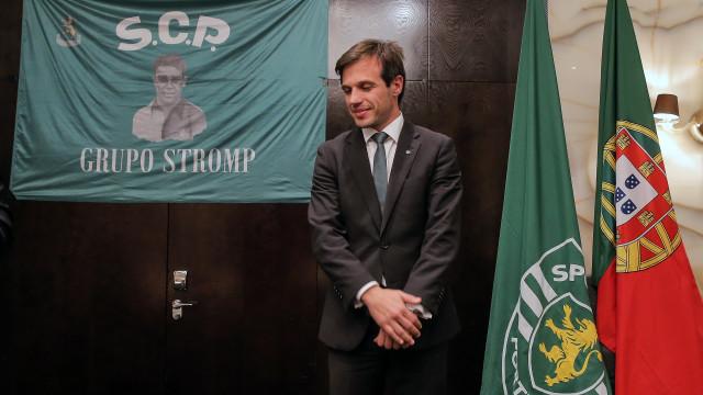 João Benedito dá os parabéns a Frederico Varandas