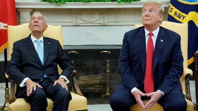 Após encontro com Marcelo, Trump reage a visita no Twitter