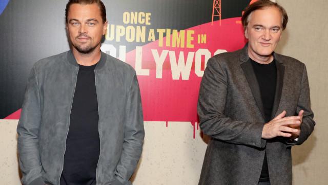 Conhecida a primeira imagem do próximo filme de DiCaprio e Tarantino