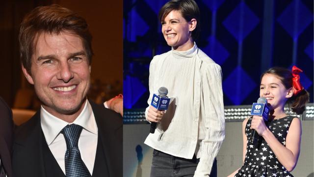 Tom Cruise quer reaproximar-se da filha. Katie Holmes tenta impedir