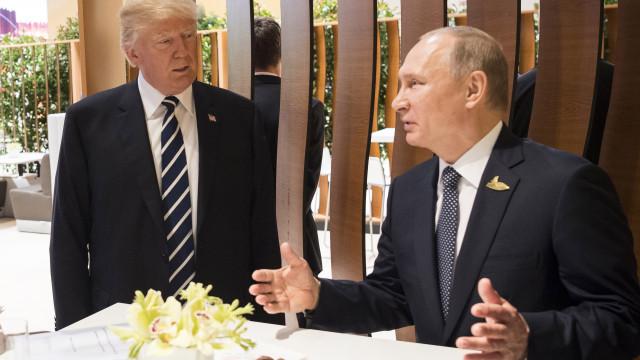 Oficial: Trump e Putin reúnem-se a 16 de julho em Helsínquia