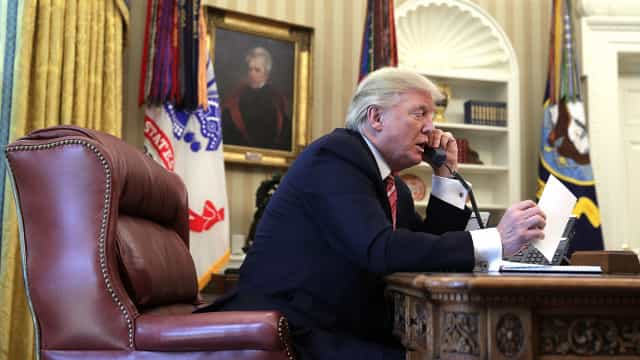 Trump inicia hoje visita ao Reino Unido com 'Brexit' e comércio na agenda