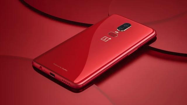 Confirmado OnePlus 6 em vermelho