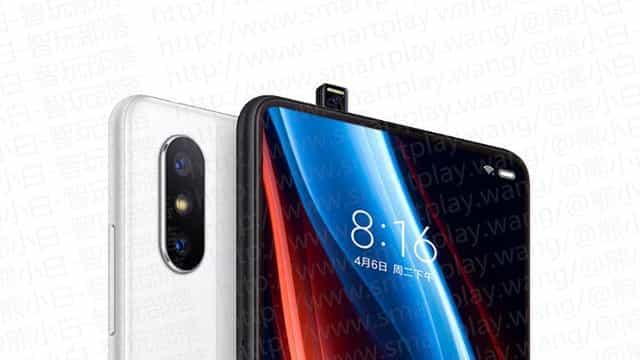 Fuga de informação revela imagens do novo topo de gama da Xiaomi