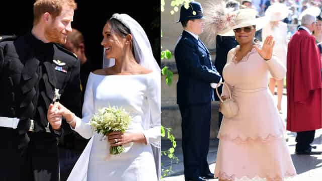 Como foi assistir ao casamento de Harry e Meghan? A resposta de Oprah