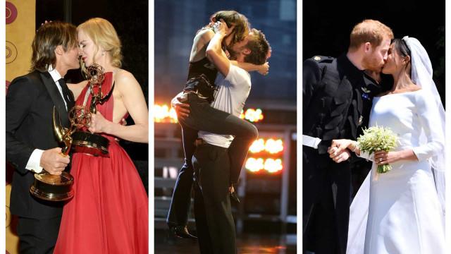 Dia Internacional do Beijo: Eis os beijinhos mais icónicos dos famosos