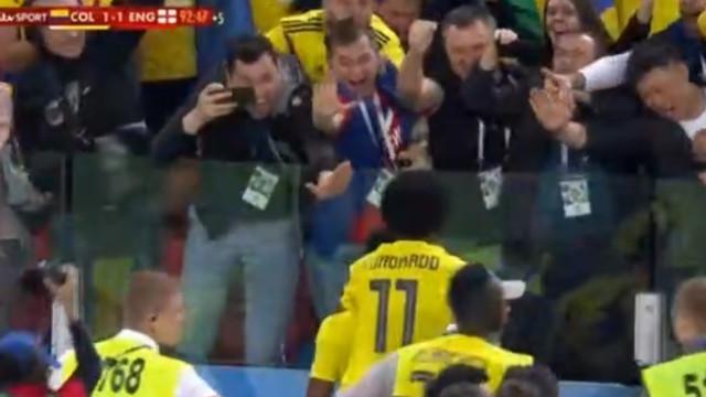 Yerri Mina levou a Colômbia à loucura com empate dramático